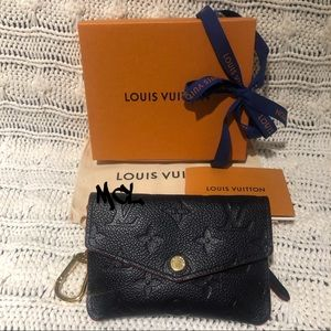 Louis Vuitton Marine Rouge Leather Key Pouch